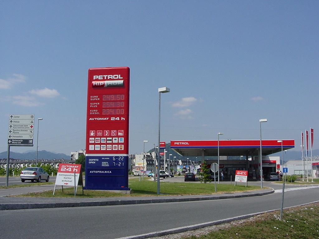 Nova avtoplinska črpalka BS Kranj – Primskovo